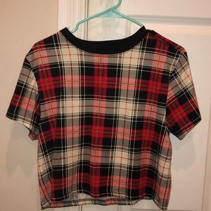 Tartan Plaid Box Tee
